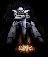 Turn A Gundam Fireplace Illustration