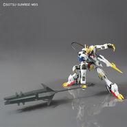 ASW-G-08 Gundam Barbatos Lupus Rex (Gunpla 1-144) (Front With Ultra Large Mace) 02