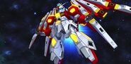 BN-876β Hot Scramble Gundam (MS Mode) (SD Gundam) 01