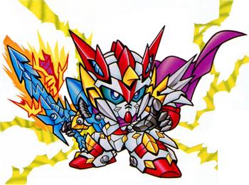 Devil Dragon Knight Zero Gundam