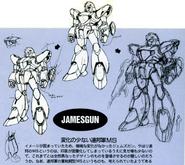 Jamesgun earlier designs