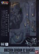 SDGAF Unicorn Gundam 02 Banshee