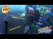 """SD GUNDAM WORLD HEROES - Episode 11 """"The Moon is There""""(EN,HK,TW,CN,KR,TH,VN,IT,FR,ID sub)"""