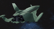 ZAFT Space Shuttle 06 (Seed Destiny Ep27)