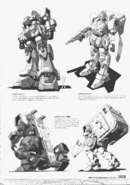 Gundam Ground Type Early Design