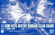 HGCE Destiny Gundam -Clear Color-