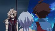 Zen, in anime Gundam Build Divers