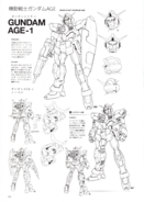 AGE-1 Gundam AGE-1 Normal Lineart