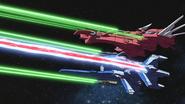 Eternal and Kusanagi in Battle 02 (Seed HD Ep46)
