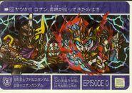 Knight Gundam Story Episode 0 Card