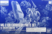 MG Expansion Part Set for Gundam Barbatos