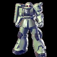 MS-06J Doan's Zaku II (Gundam Versus)
