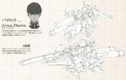 Narrative Gundam NT A-Packs Lineart