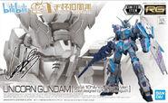 RG Unicorn Gundam -bilibili 10th Anniversary Ver.-