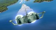 ZAFT Space Shuttle 04 (Seed Destiny Ep26)