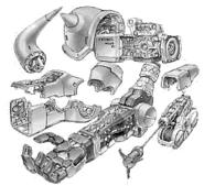 Gouf Custom - Arm Unit