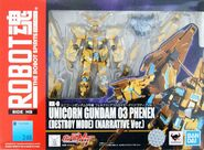 Robot Damashii Unicorn Gundam 03 Phenex (Narrative Ver.) box