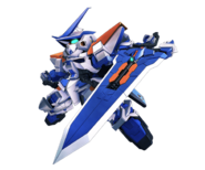 SD Gundam G Generation Cross Rays Gundam Astray Blue Frame Second L