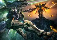 00 Raiser vs Reborns Gundam