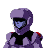 Zanscare Pilot B (G Gen Wars)