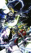 XXXG-01S2 Altron Gundam - Defeats Tallgeese II