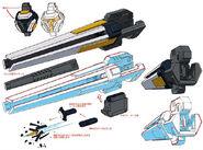 Atlas rain gun