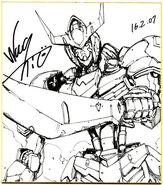 Gundam Barbatos by Naohiro Washio 04