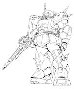 Okawara Redesign Zaku1