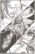 Gundam Unicorn Novel Gael Chan vs Banagher Links