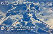 HGBD Gundam 00 Diver -Dive Into Dimension Clear-