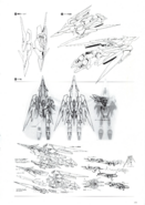 Gundam Fenice Rinascita Lineart 2