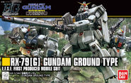 HGUC Gundam Ground Type