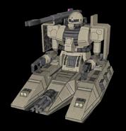 MSSS Zaku Tank Cannon