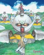 Turn A Gundam Episodes Kenji Tsuruta Illustration