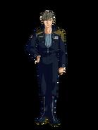 G Gen Cross Rays Custom Character (Male Preventer Soldier)