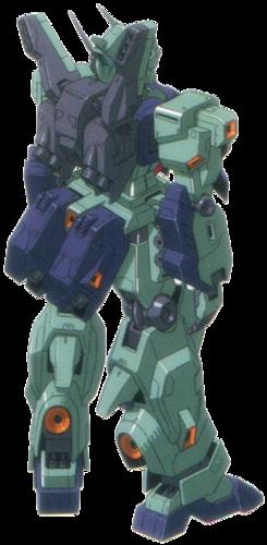 Rear (Amuro Ray Custom)
