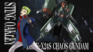 Sting & Chaos Gundam in second opening