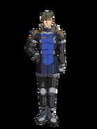 G Gen Cross Rays Custom Character (Male Preventer Pilot)