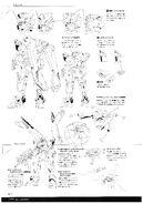 Hyperion Gundam Lineart 2