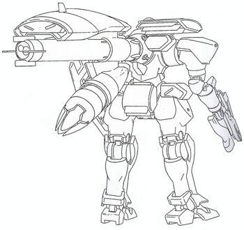 Rear (w/ Long-Range Backpack II)