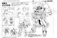 ZGMF-X56 Chaos Impulse Lineart