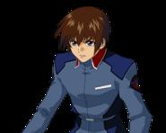 ''SD Gundam G Generation Crossrays'' Kira yamato
