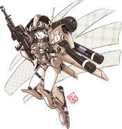 MSA-007 Nero MS Girl
