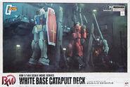 HGUC White Base Catapult Deck