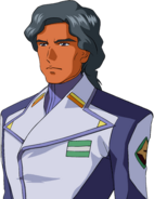 Super Robot Wars T Character Face Portrait 422