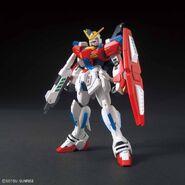 SB-011 Star Burning Gundam (Gunpla) (Front)