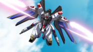 Strike Freedom with Beam Sabers 01 (Seed Destiny HD Ep41)