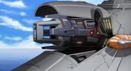 """Minerva """"Tannhäuser"""" Positron Blaster Cannon 01 (Seed Destiny HD Ep12)"""