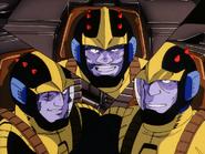 Mobile Suit Gundam Journey to Jaburo PS2 Cutscene 044 Black 3 stars 2