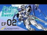 Gundam Build Divers-Episode 2- Chaotic Ogre (EN dub)